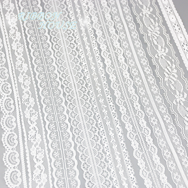 5 yards roll white lace fabric Webbing Decoration packing Material roll wholesale (5 yards/roll) white lace fabric Webbing Decoration packing Material roll wholesale