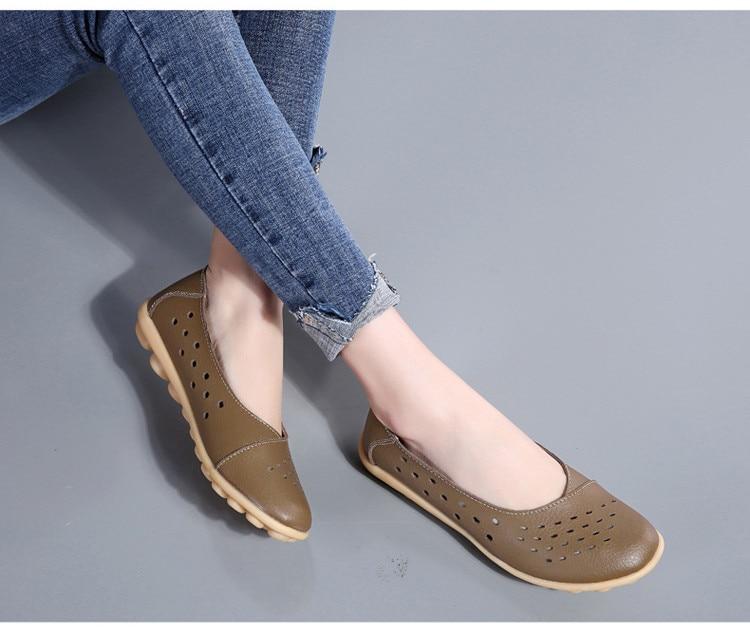 AH 5929-1-2019 Summer Woman Flats Cut-Outs Women Loafers-11