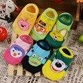 New Spring Autumn Unisex Baby Socks Short Cotton Sock Baby Boy Girl Baby Lovely Character Pattern Non-slip Bottom Floor Socks
