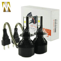 2017 New H7 Car LED Headlight Plug&Play 6400lm 60W Auto Kit Headlamp H1 H3 H4 H8 H9 H11 9005 9006 HB3 HB4 880 881
