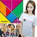 HPEIYPEI KPOP Korean Fashion MAMAMOO Album New York Cotton Tshirt K-POP T Shirts T-shirt PT253