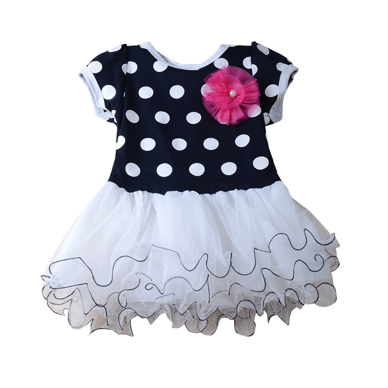 2017 New Retail sell like hot cakes!Fashion girl dot dresses is suitable for 2 to 6 years old girl new european top grade embroidery cushion sell like hot cakes four seasons pleuche gm direct manufacturers in the cushion