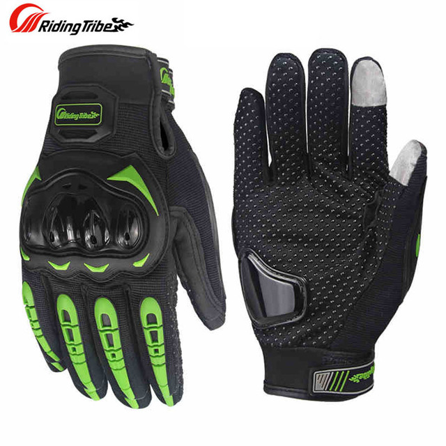 Motorcycle touch screen gloves motocross wearable sport full finger glove luvas moto Protective Gears gant moto racing gloves