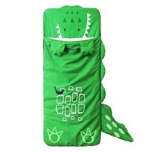 Image 5 - Cartoon Animal Modeling Cotton Baby Sleeping Bag Winter Toddler Girl Boy Child/Kids Warm Sleep Bags,Size:130*105cm,1 4 Yea