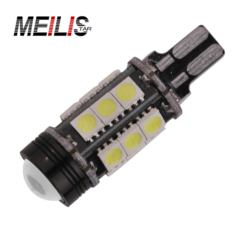 Car styling T15 Xenon White Car styling Canbus Error Emitter LED T15 360 5050SMD 921 912 W16W LED Backup Reverse Lights Car Led 2 x error free super bright white led bulbs for backup reverse light 921 912 t15 w16w for peugeot 408