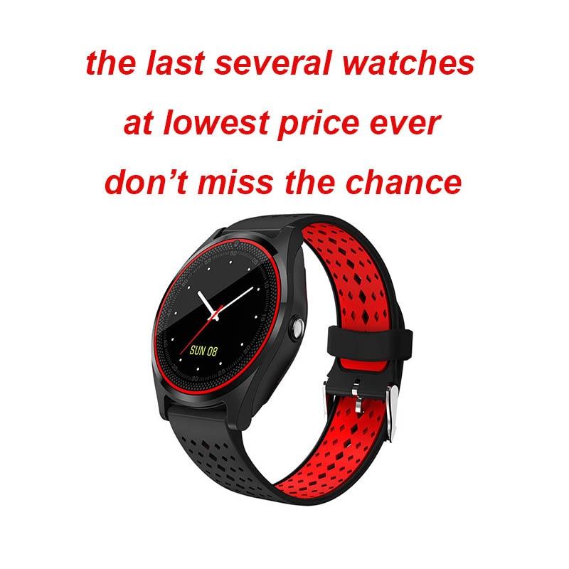 Bluetooth V9 Smart Watch Support 2G SIM TF card Smartwatch Pedometer Health Sport Men Women Smartwatch For Android pk dz09 Y1 V8 умные часы smart watch y1