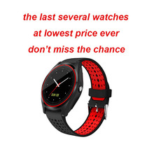 Bluetooth V9 Smart Watch Support 2G SIM TF card Smartwatch Pedometer Health Sport Men Women For Android pk dz09 Y1 V8