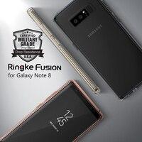 Ringke Fusion Note 8 Case Certified Protection de Niveau Militaire Cristal PC Retour + TPU Pare-chocs Hybride Cas pour Samsung Galaxy Note 8