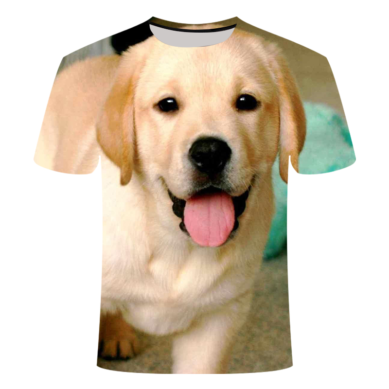 3D Printed Pet Dog T-shirts Labrador Retriever Large Size 6XL T-shirt Pattern Can Be Customized Buy More Than One Discount 2019