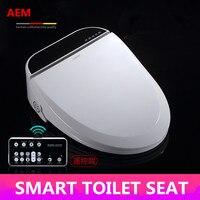 Интеллектуальные сиденье для унитаза с подогревом умная крышка биде wc sitz светодиодный удлиненные автоматическая крышка для унитаза Детски