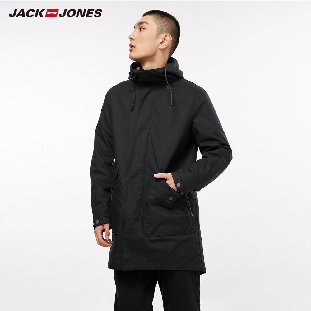 JackJones для мужчин зима и зима Реверсивный Стиль камуфляжное пальто Slim Fit колледж Роскошные флис пилот куртки swear   218309518