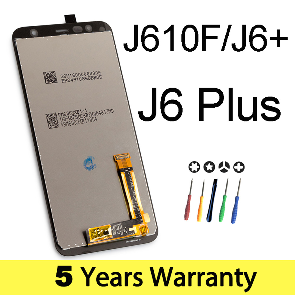 Image 5 - BYF 100% Original New Lcd For Samsung J610 Display J6+ J6 Plus Wholesale Price Lcd For Samsung J6 2018 Screen Touch Display-in Mobile Phone LCD Screens from Cellphones & Telecommunications