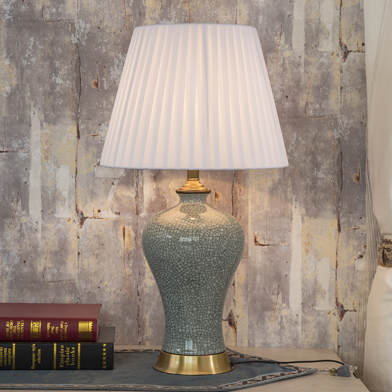 China Antique Living Room Study Retro Vintage Table Lamp ...