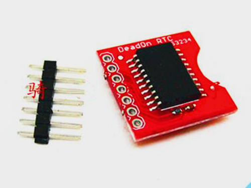 Free Shipping!!! DS3234 ultra-precision real-time clock module ARDUINO clock module power-down travel time