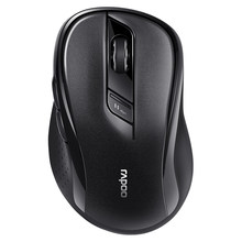 Rapoo M500 Silent Multi-mode Wireless Mouse Bluetooth 3.0/4.0 & 2.4G switch between 3 Devices Connection 1600 DPI Computer mouse(China)