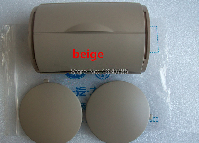 Beige  Rear Ashtray Bin Ash Tray + Side Caps For VW JETTA BORA GOLF 4  MK4   1J0 857 962 H +1J0 863 359E