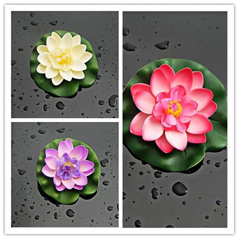 Popular lotus flower crafts buy cheap lotus flower crafts for Fake flowers for crafts