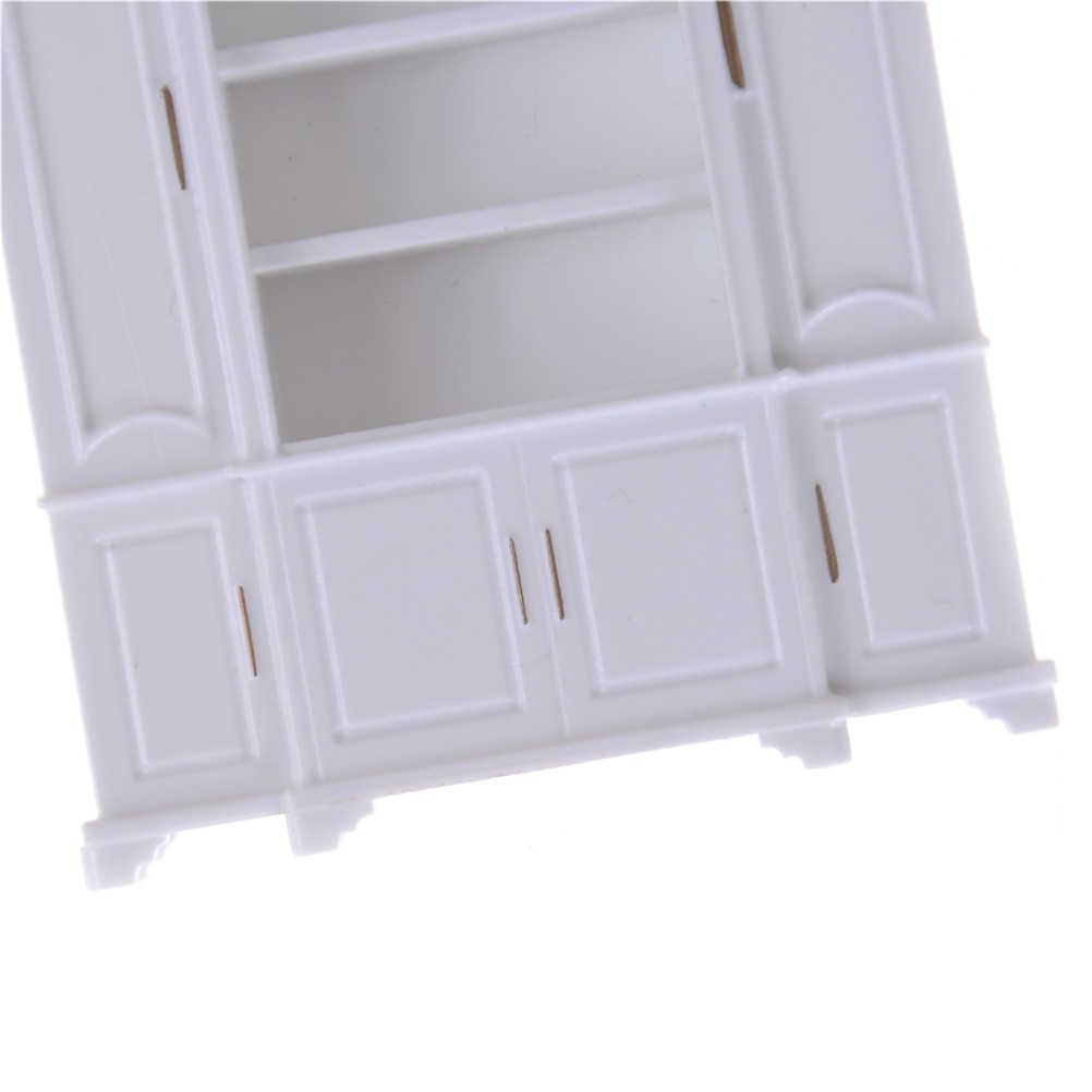 51*12*56 мм кукольный домик мини кукольный комод Кухня Обеденный дисплей полка белое украшение для кукольного домика миниатюрные кухонные аксессуары