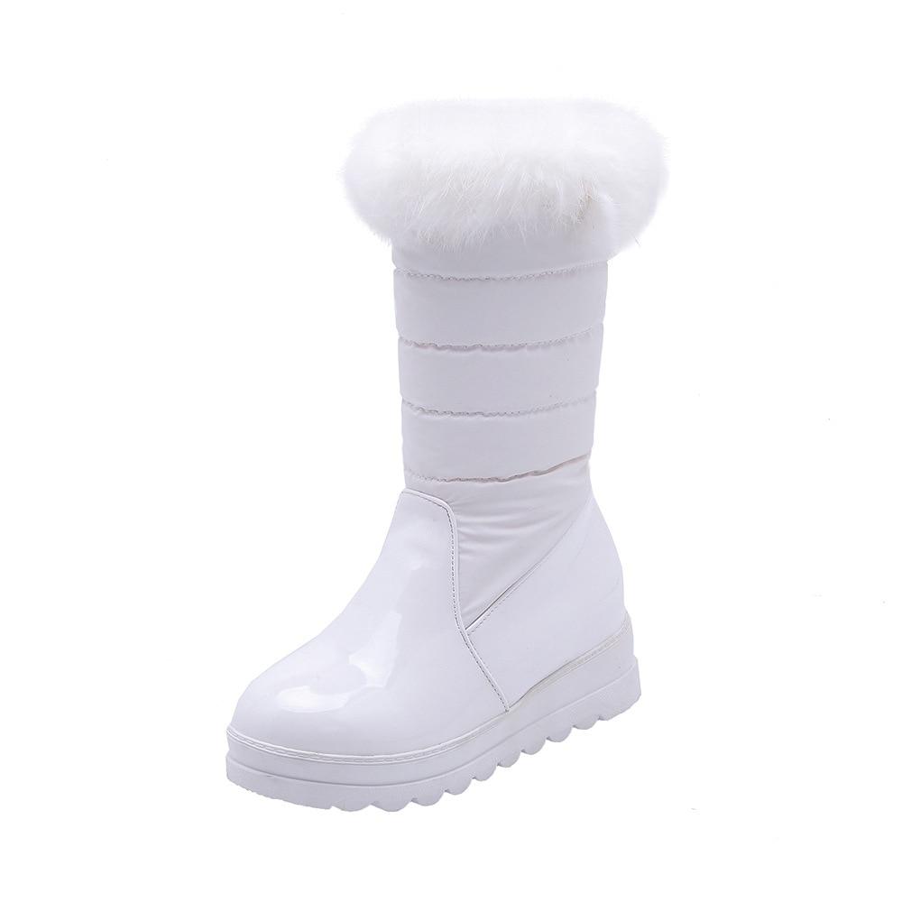 Nieve Botas 43 Femenina Nueva Tamaño Casual Calientes Invierno El De blanco E 18109 En rojo Marea Tubo Fondo Código Negro 33 Otoño 2018 WqpzZPap