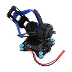 Ultralight 2-axis Mini Gimbal Kit FPV Aerial Photography PTZ 108G Metal 2206/100T Brushless GOPRO3/GOPRO4 CNC Gimbals