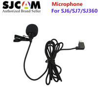 100 Original SJCAM Accessories External MIC Microphone With Clip For SJ6 Legend SJ7 Star SJ360