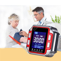 650nm Diode laser physiotherapy wrist therapy LLLT for diabetes hypertension high blood treatment diabetic sinusitis Laser watch