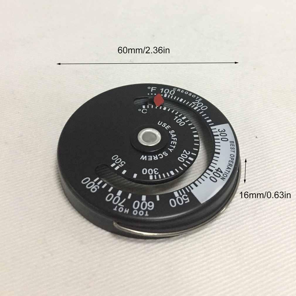 Poêle à bois haute température contrôleur de cheminée cheminée mécanicien thermomètre température de combustion sûre