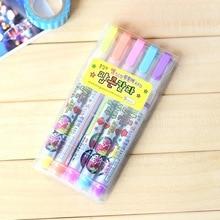LolliZ 5PCS/Lot Marker Pens Creative Diy Paint Markers Cute Art For School Office Stationery