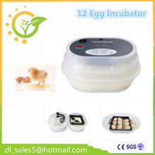 Home use China cheap 12 eggs Incubator automatic brooder hatcher machine(China)