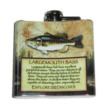 Hip Flask Largemouth Bass American Expedition