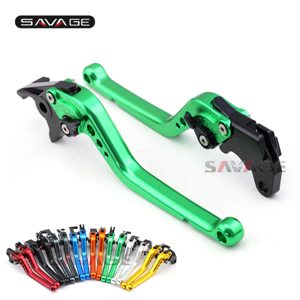 Short/Long Brake Clutch Levers For KAWASAKI Z1000 Z1000SX Z750R NINJA 1000 ZX10R ZX6R Motorcycle Accessories Adjustable CNC 2016 motorcycle mixed colors adjustable lever regular cnc dual color brake clutch levers for kawasaki z1000 z750r 2011 2012
