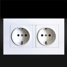EU Standard Wall Power Socket, Manufacturer of 16A Wall Outlet, Wall Electric Power Socket German Standard AC110~250V 146*90MM стоимость