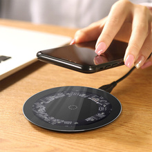 10W Qi Wireless Charger for iPhone X XS Max XR 8 Plus Phone Fast Wireless Charger Charging for Samsung S8 S9 S9+ Note 9 Xiaomi все цены