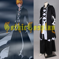 Bleach Kurosaki ichigo Cosplay Costume Bleach cosplay outfits Halloween cosplay costumes