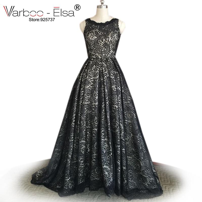 Varboo Elsa Arabic Evening Dresses