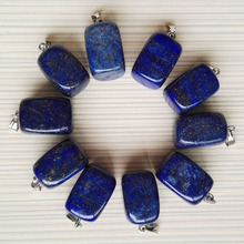 natural pendants Lapis making