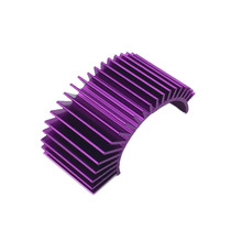 Aluminum 540 550 Motor Heat Sink heatsink for 1 10 Tamiya HPI HSP Car Truck purple