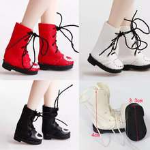 PU Leather Doll Boots For blyth Doll shoes 3 3cm suitable for blyth 1 6 doll