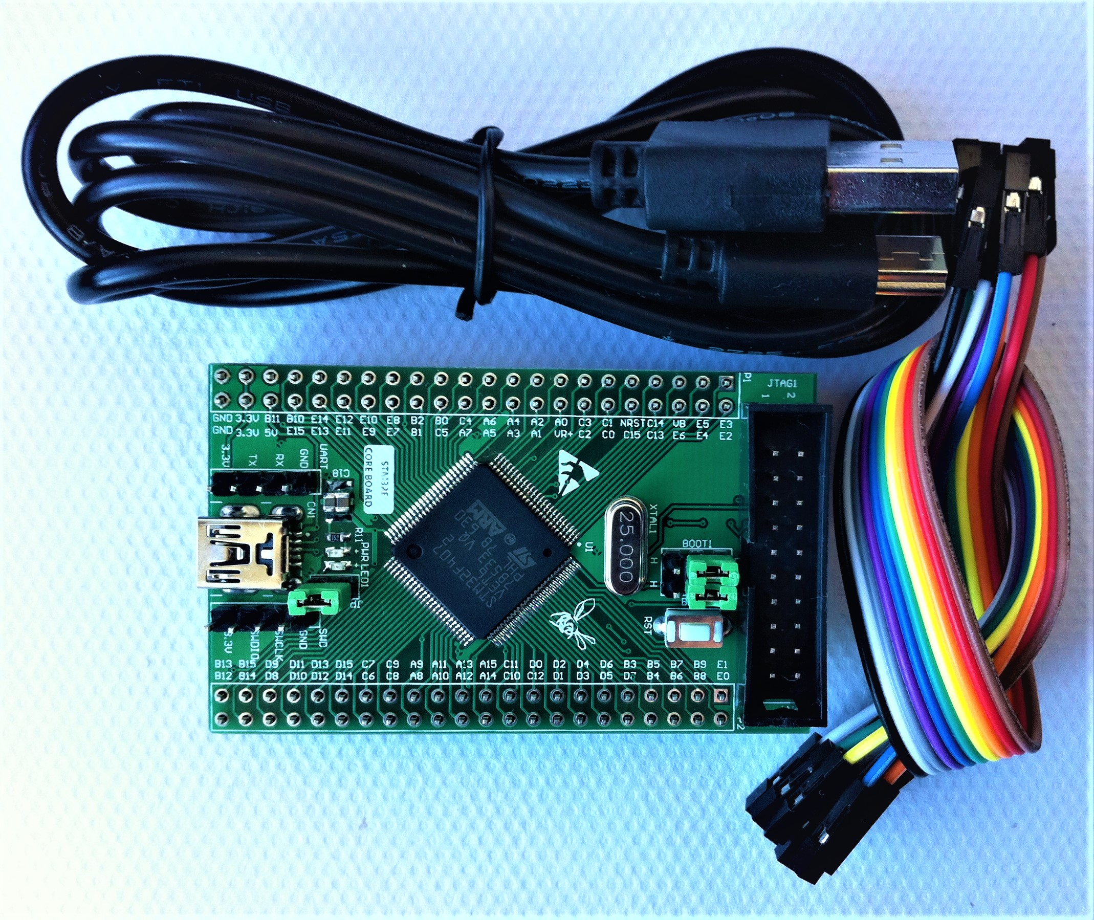 цена на STM32F407VET6 Core Board Minimum System Development Board STM32F407 VET6 Mini Board