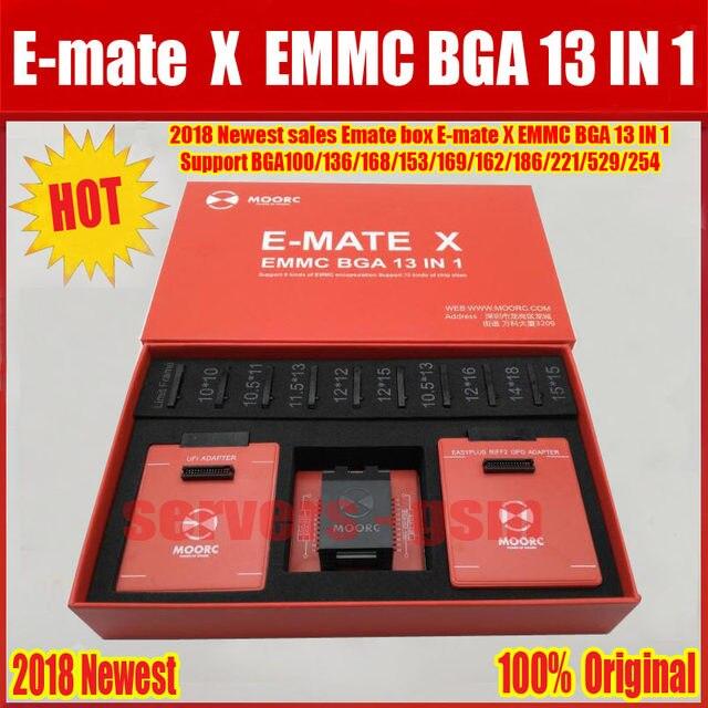 Newest sales E-MATE X EMMC BGA 13 IN 1 MOORC / E