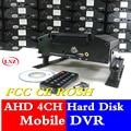 Прямая поставка с фабрики серийное видео наблюдение на жестком диске видео регистраторы 4 road MDVR высокого класса рекламная Специальная цена