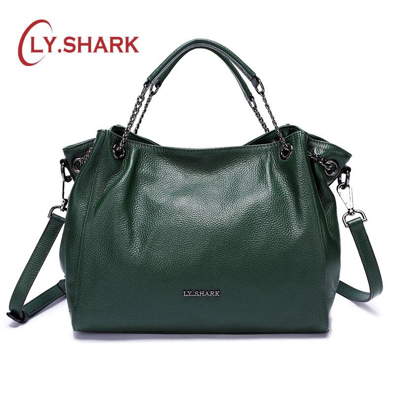 LY. requin sac pour femmes sac Messenger femmes sacs à bandoulière pour femmes 2019 sacs à main de luxe Designer sac femme dames en cuir véritable