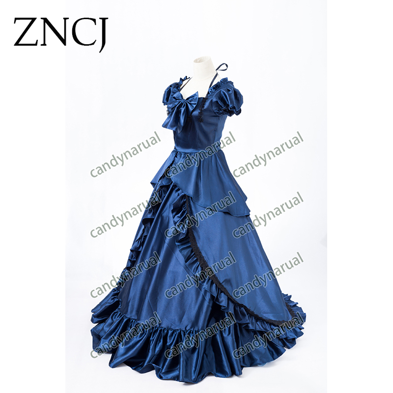 ZNCJ Newest Southern Belle Ball Gown Victorian Dress Adult Women ... e2b00045a4b0