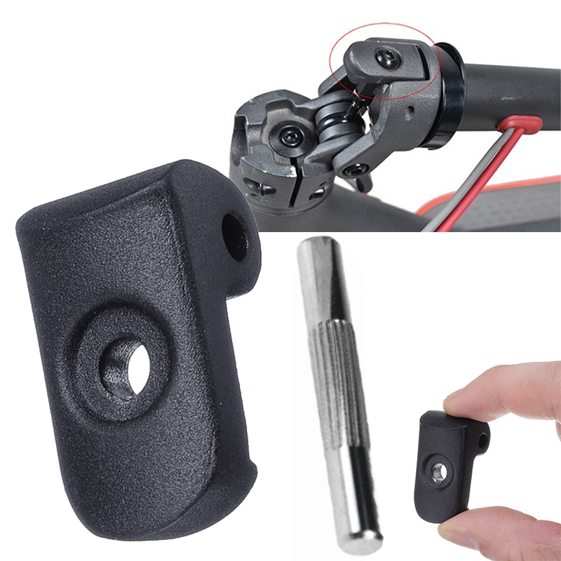 Reinforced Lock For Xiaomi M365 with pin Comes In Black