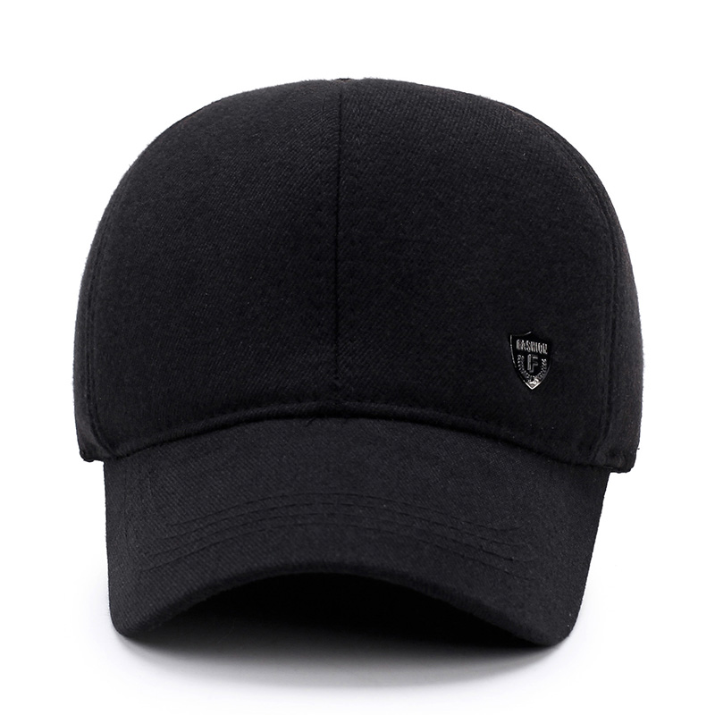 a9d6847fe98  AETRENDS  2017 New Winter Baseball Cap Men Dad Hat Warm with Ear Flaps  Fashion Design Bone Men Snapback Caps Z 5892-in Baseball Caps from Apparel  ...