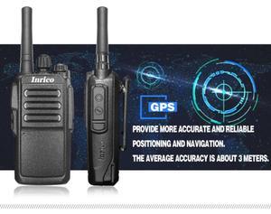 Image 2 - Беспроводной сети общего пользования цифровая портативная рация T196 3G WI FI сети 50 км портативная рация интеллигентая (ый) global говоря WCDMA радио