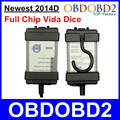 Newest 2014D For Volvo Vida Dice OBD2 Diagnostic Tool For Volvo Dice Vida Pro Powerful Interface Auto Scanner Full Chip PCB
