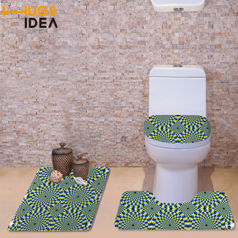 hugsidea designer toilet seat thicken toilet seat cover soft comfortable overcoat toilet case three