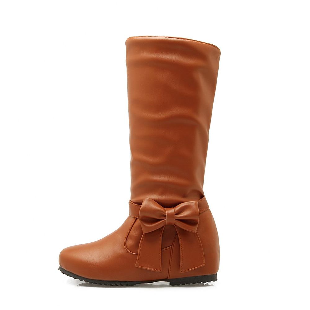 5c3c65964d5 Plus Size 48 Hot 2018 Spring Autumn Women Boots Fashion Casual Low ...