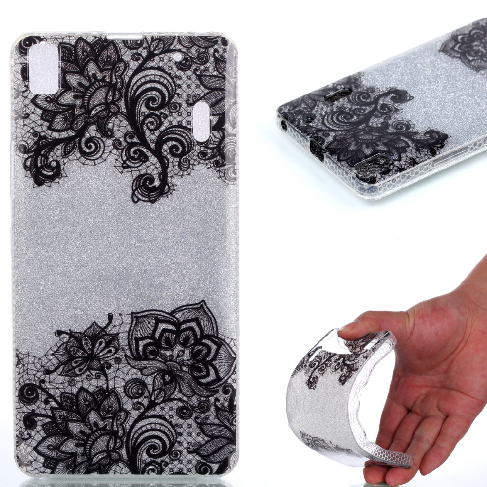 newest 6c2ac 36afc US $4.99 |Case For Lenovo A7000 Cover Bling Glitter TPU Soft jelly Ultra  slim Funda coque phone Case For Lenovo K3 Note A 7000 K50 T5 K50-in ...